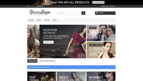 Démo boutique en ligne