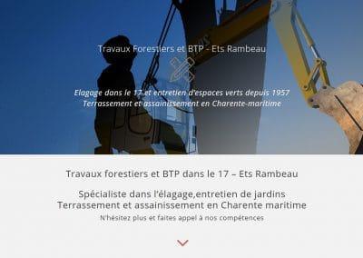 CRÉATION SITE INTERNET ROCHEFORT | ÉLAGAGE ET TERRASSEMENT DANS LE 17